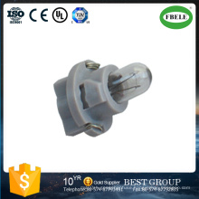 Instrument Lamp Holder, LED Bulbs Holder LED Instrument Lamps Socket LED Bulb Base Extension Cables Green Rubber