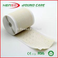 Ruban adhésif à base d'oxyde de zinc et d'adhésif perforé HENSO