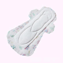 Customized feminine sanitary pads comfort sanitary napkins with print