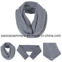 Men′s Solid Color Pure Cashmere Muffler Scarf