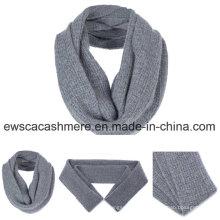 Мужская сплошной Цвет чистого кашемира глушитель шарф