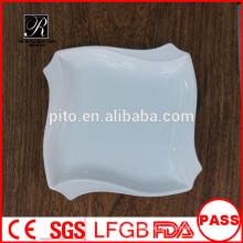 Fabrik Preis Porzellan Abendessen Platte Platz