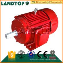Motor de inducción eléctrico de la CA trifásico 75KW 100HP AC 2960rpm