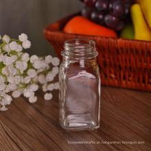 Frasco pequeno do vidro de doces de 80ml
