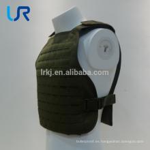 chaleco antibalas táctico militar del portador de la placa