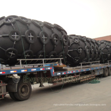 Largest 4500 Diameter Yokohama Pneumatic Rubber Fender, Marine Floating Inflatable Type for Barges Sts Transfers and Pier, Port Docks