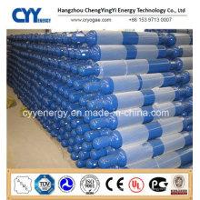 Cylindre à gaz en oxygène en aluminium sans soudure haute pression