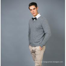Camisola masculina de cashmere de moda 17brpv067