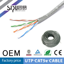 SIPU hot sell utp cat5e lan cable 4 pairs 305m a roll factory price