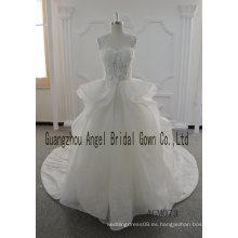 2017 vestido de bola del nuevo estilo vestido de novia elegante hermoso