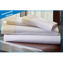 Хлопковый полиэстер Подогнанный лист Hotel Linen