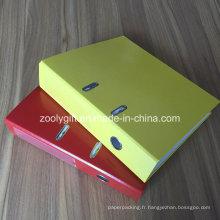 Carton imprimé A4 Levier de papier Arch File Spine Label Pocket