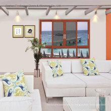Высокое качество тонкий алюминиевые окна (фут-W85)