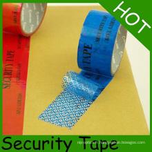 Bande de vide d'emballage de sécurité de preuve d'inviolabilité pour la protection d'emballage
