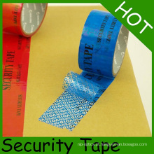 Fita inválida de empacotamento da segurança inalterável para a proteção de embalagem