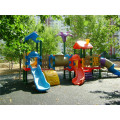 Children Playground for Both Indoor and Outdoor, Pleastic Slide