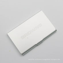 Classic Aluminium Business Card Holder for Promotion & Gifts