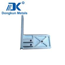 Plaque en aluminium d'usinage CNC pour outil