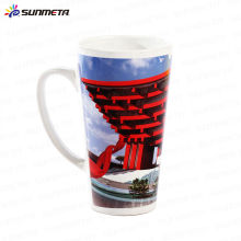 White Blank Sublimation Conical Ceramic Mug Made in China At Low Price Wholesale