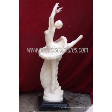 Bailarina de la estatua de mármol de la estatua de mármol de la estatua del hotel de la escultura italiana (SY-X1149)