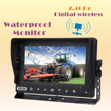 Wireless Waterproof LCD Monitor Rearview System with 2CH Input