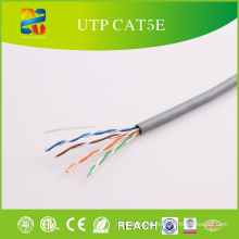 Sólido Bare Copper Conductor UTP Cat5e-4p PVC Jacket
