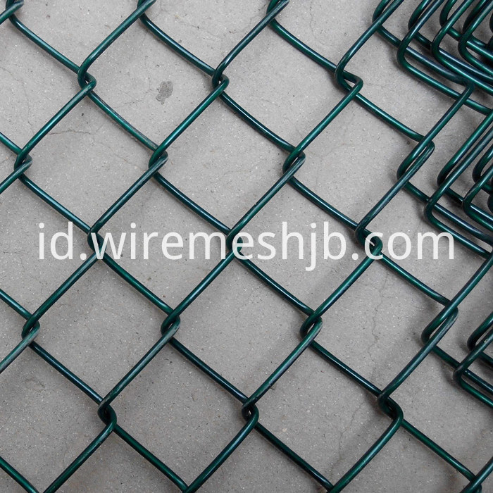 Vinyl Coated Chain Link Mesh