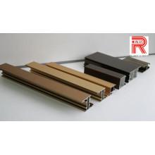 Perfis de extrusão de alumínio / alumínio para o sistema de caixa de som