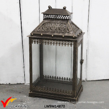 Antique Decorative Iron Outdoor Moroccan Lantern