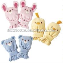 Lovely Baby Glove com imagens de animais