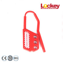 10 Years for Nylon Lock Out Tag Out Hasp Non-conductive Safety Nylon Lockout Hasp export to Cape Verde Factories