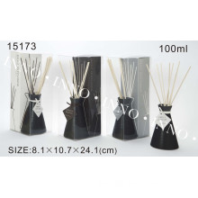 100ml Reed Diffuser with Black Ceramic Bottle