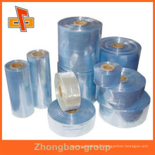customizable water proof heat sensitive shrinkable flexible plastic transparent pvc heat shrink film
