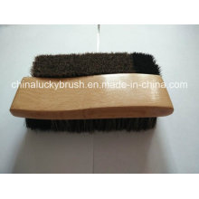 Curve Style Pure Horse Hair Shoe Brush (YY-485)