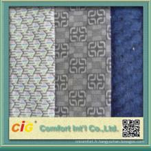 Chine nouvelle conception haute qualité velours tissu pour siège d'autobus
