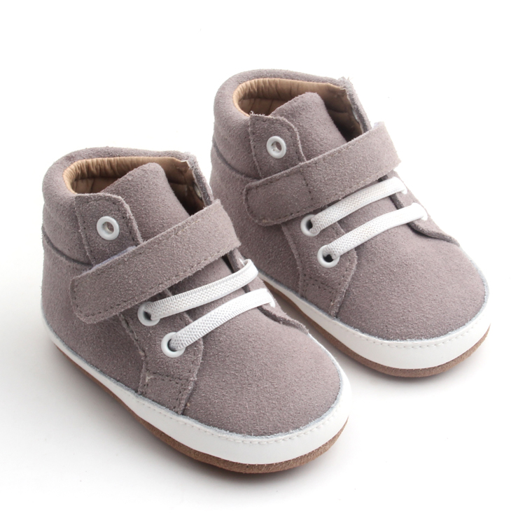 Baby casual shoes Soft leather Toddler