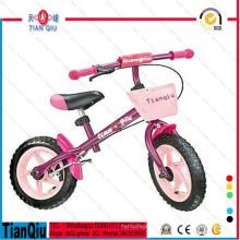 Crianças primeiro bicicleta de equilíbrio de bicicleta com cesta