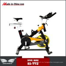 Bicicleta de spinning integrada Heavy Flywheel para gimnasio