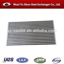 Alto rendimiento de aluminio de placa-aleta intercooler núcleo fabricante