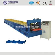 folha de metal ondulada faz a máquina para parede ou telhado ondulado aço telhado ou parede Máquina Perfiladeira