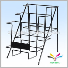 Factory Supply OEM Design shop desk metal wire brochure display racks