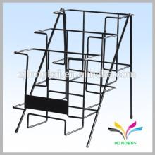 Фабрика поставки OEM дизайн магазин письменный стол металлической проволоки стеллажи для выставки товаров брошюры