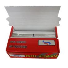 Papel de aluminio de la hornada del embalaje del alimento del hogar respetuoso del medio ambiente