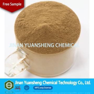 CAS 8061-52-7 Materiali refrattari Binder Calcium Lignin Sulphonate