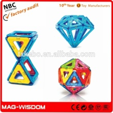 New Plastic Super 3D Magnetic Puzzle 20PCS Set