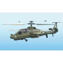 FX035 Juguetes teledirigidos Comanche sola hoja 4CH RC Drone helicóptero