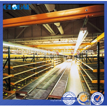 Warehouse Heavy Duty Gravity Type Flow Roller Rack