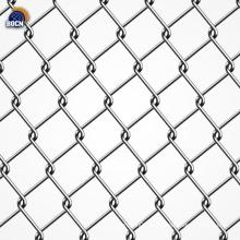 clôture de maillon de chaîne enduit de PVC