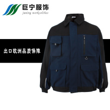 Deep Colour Man's Jacket in Autumn and Spring