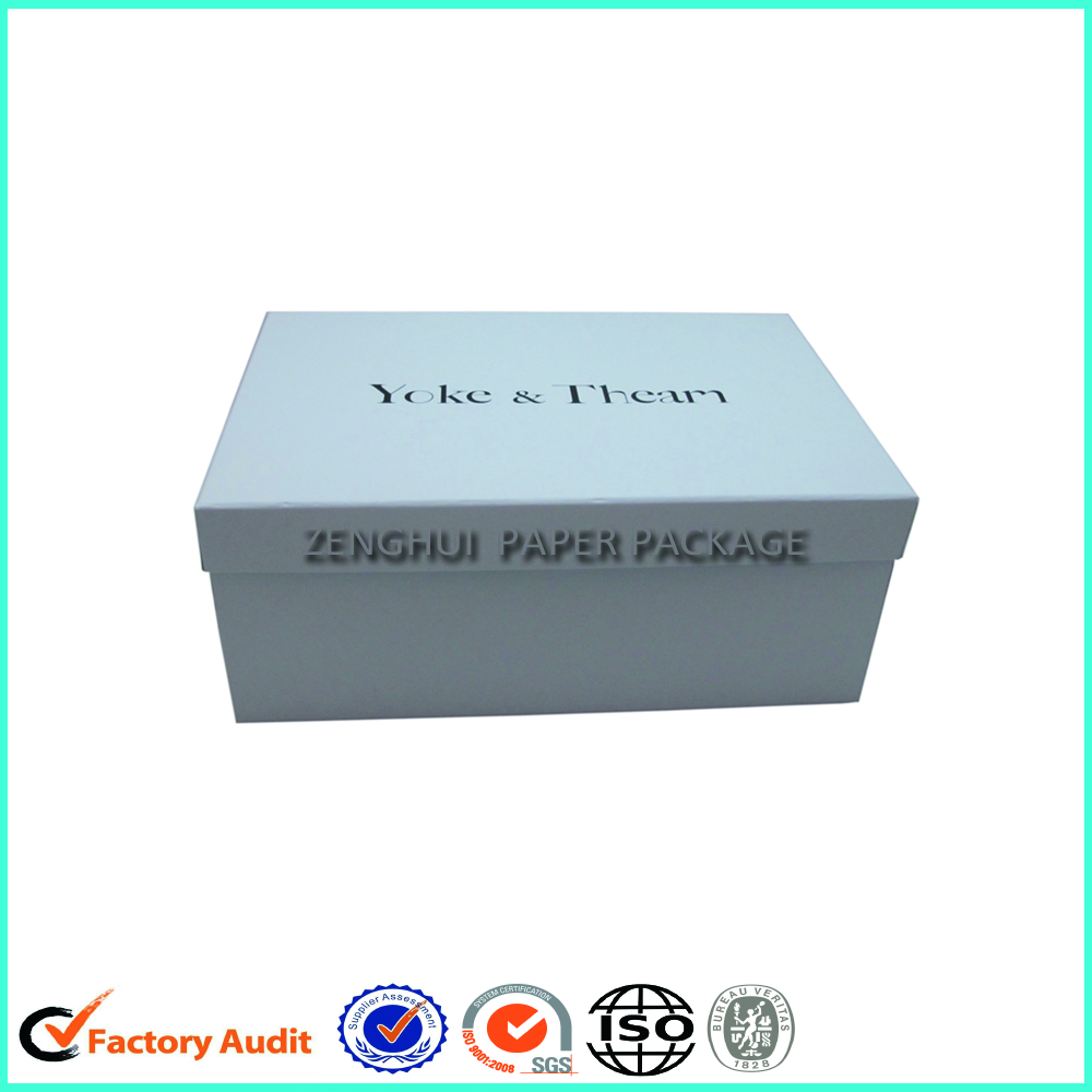 Luxury Custom Standard Size Shoe Box